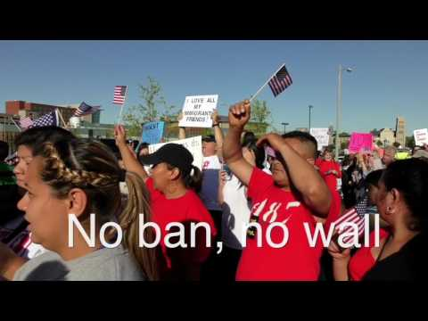 Memphis Immigrant March May 2017
