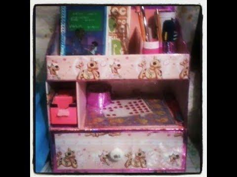 Organizador con caja de cart n super f cil de hacer youtube - Como hacer un organizador de zapatos casero ...