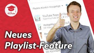 Playlist aus gesehenen Videos erstellen - Neue YouTube Funktion