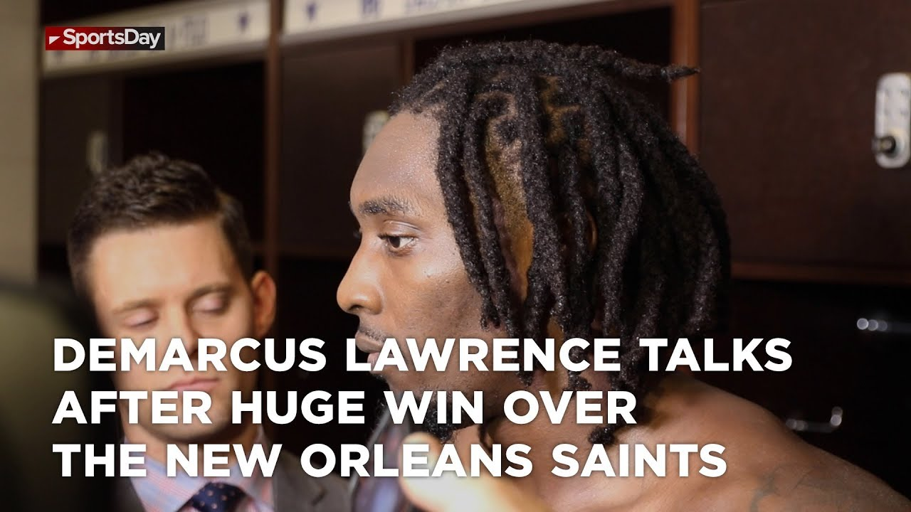 demarcus-lawrence-talks-after-huge-win-over-the-new-orleans-saints