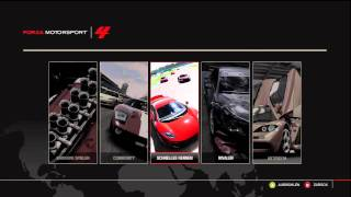 Forza Motorsport 4 original Menu Soundtrack 3