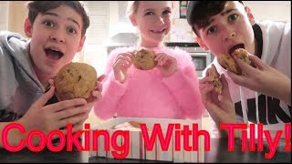 COOKING WITH TILLY FT. MAX AND HARVEY!!! || Tilly Frills