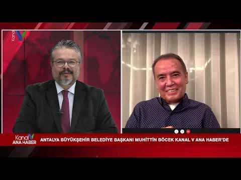 Kanal V Ana Haber'in Konuğu Antalya Büyükşehir Belediye Başkanı Muhittin Böcek - 7 Aralık 2020