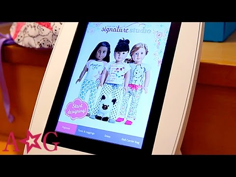 Design Your Own Outfit at Truly Me Signature Studio   American Girl
