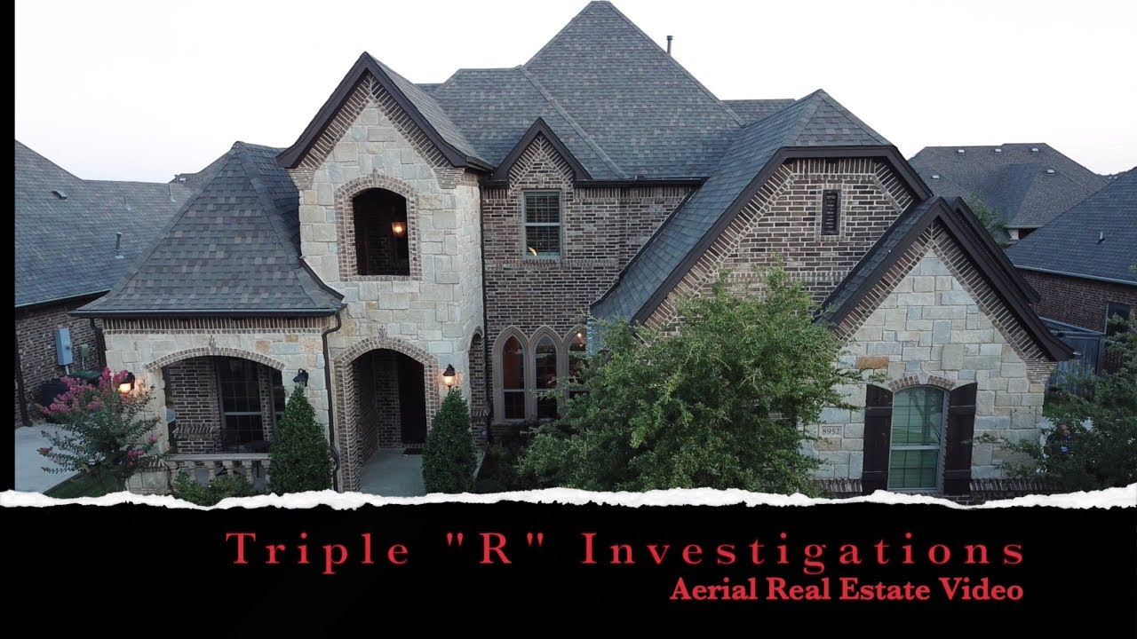 Aerial real estate video provided by Triple R Investigations