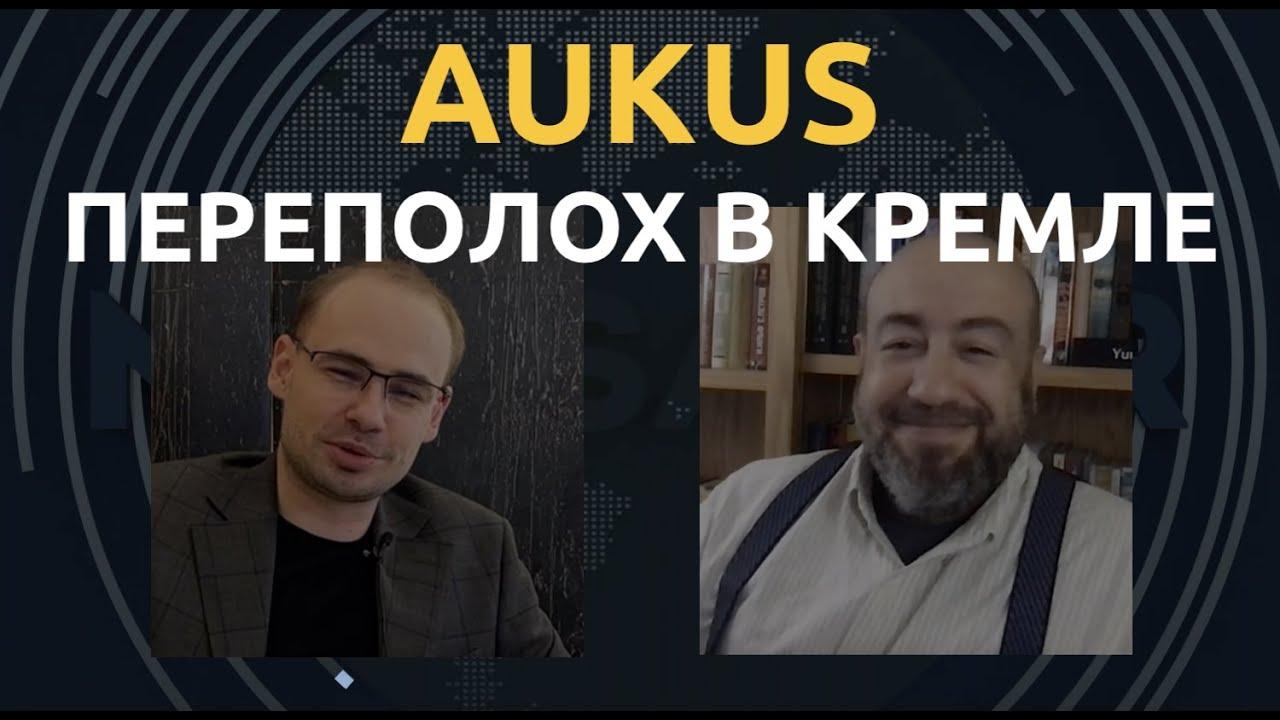 Обложка видеозаписи Вопли Путина. Юрий Рашкин об AUKUS и Нуланд