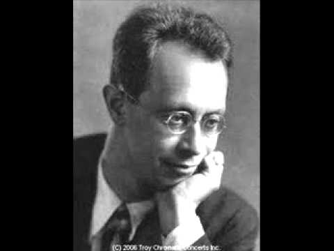 Rudolf Serkin plays Reger Variations and Fugue on a Theme by Bach Op. 81