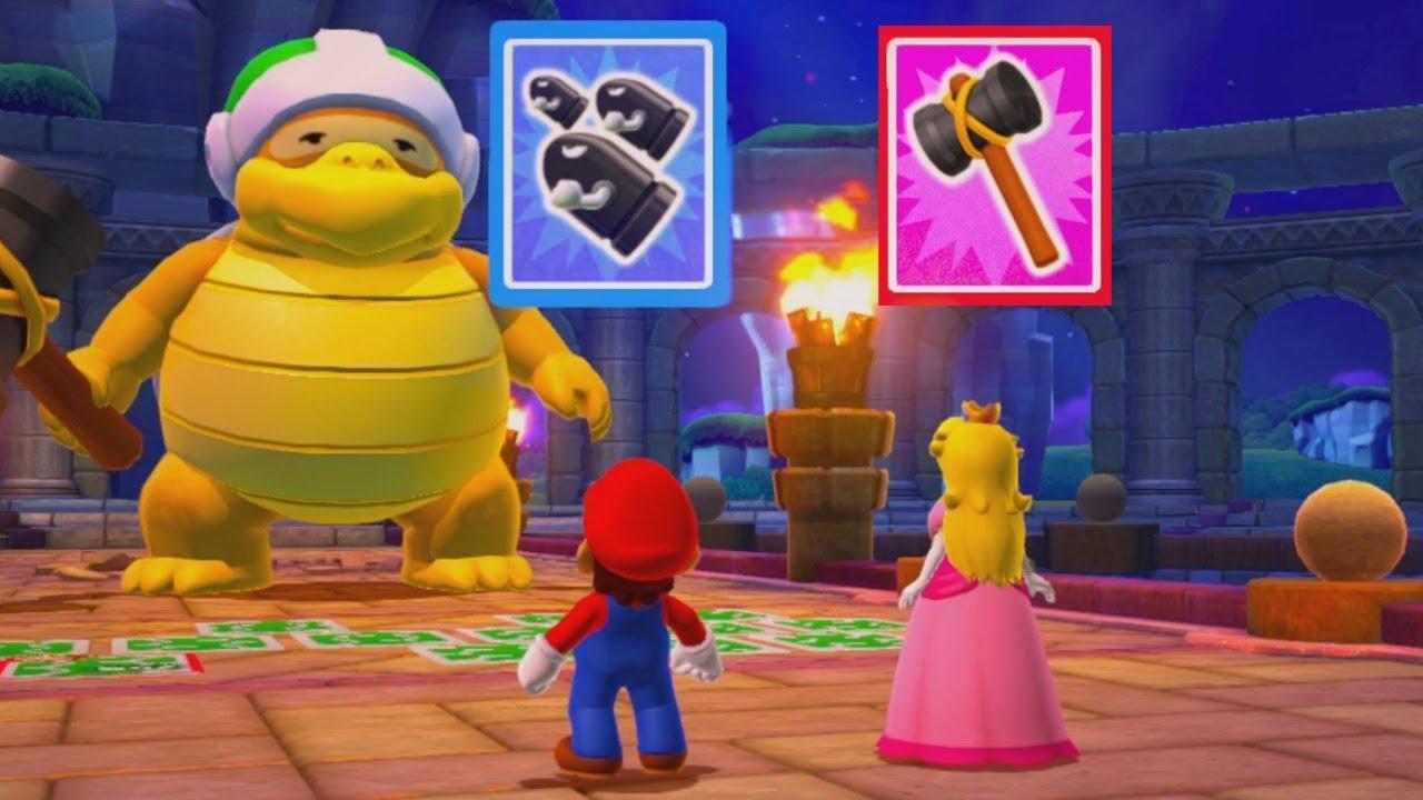 Mario Party 10 - Mario vs Peach - Chaos Castle