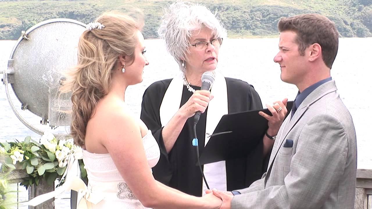 reverend katherine revoir non denominational wedding officiant northern california youtube
