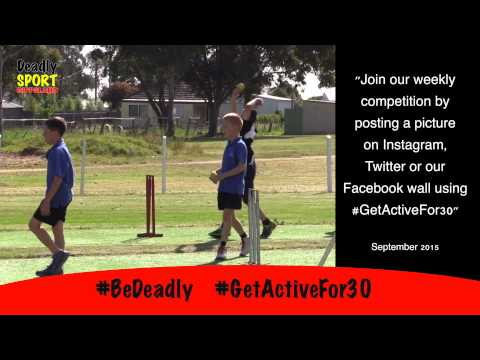 #GetActiveFor30