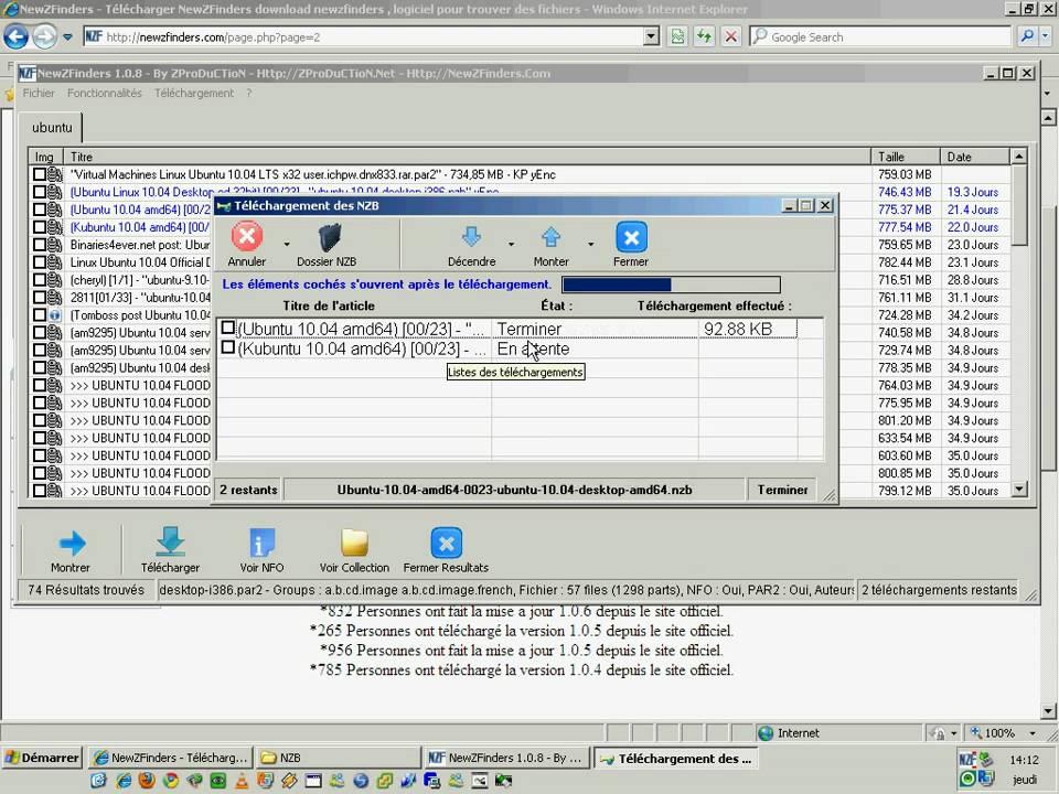 logiciel newshosting