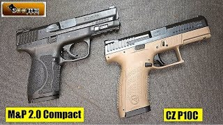 S&W M&P 2.0 Compact vs CZ P10C