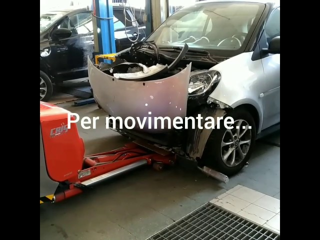 movimentazione auto in officina