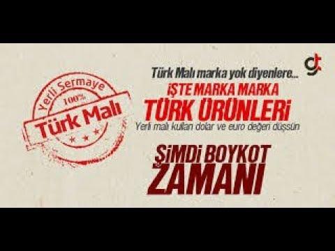 Yerli Malı ürünler Nelerdir Türk Malı ürünlerin Listesi Youtube