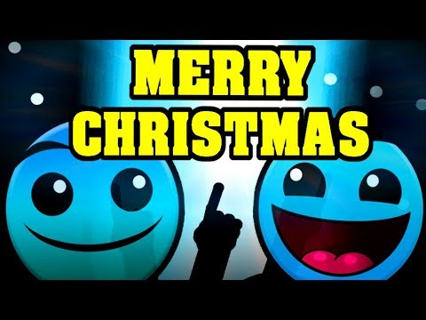 Geometry Dash Christmas Special With Amazing Levels