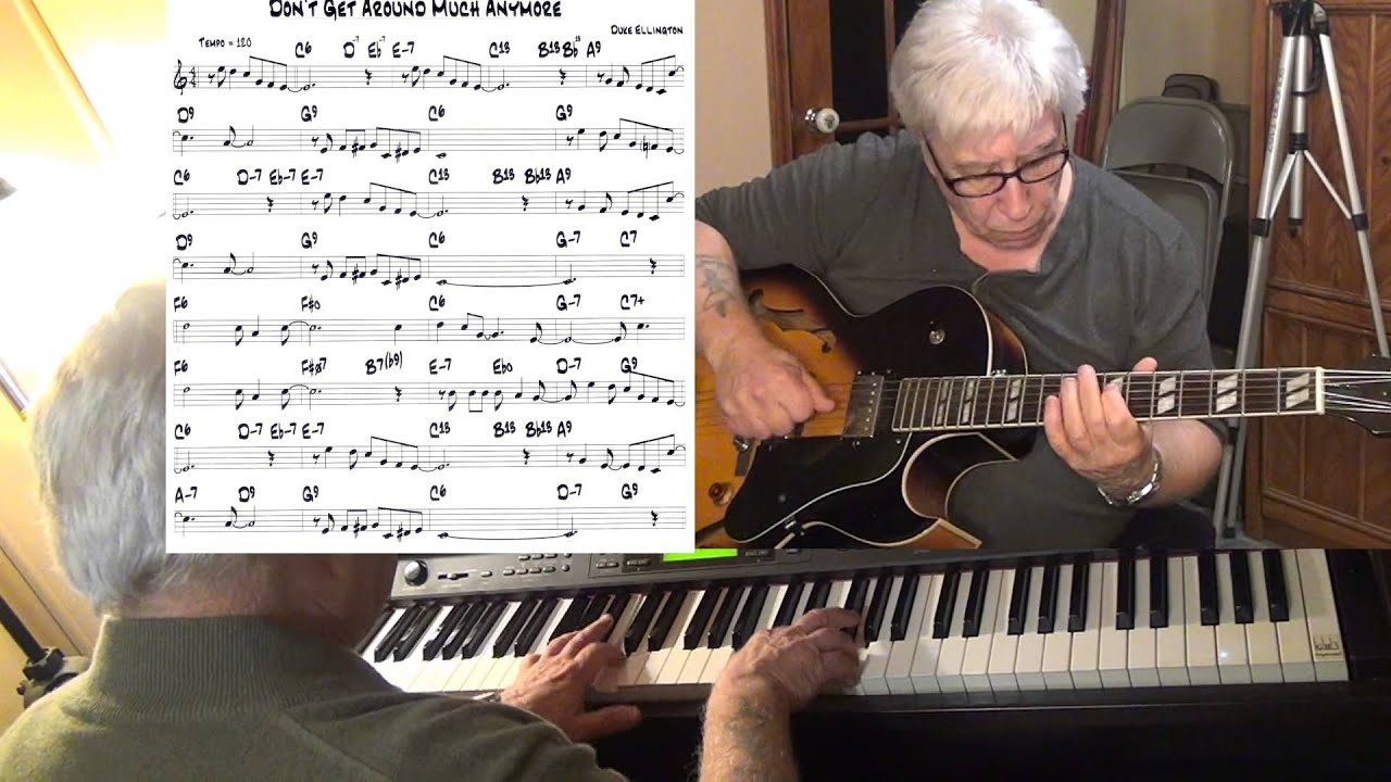 Dont get around much anymore guitar piano jazz cover duke dont get around much anymore guitar piano jazz cover duke ellington yvan jacques hexwebz Images