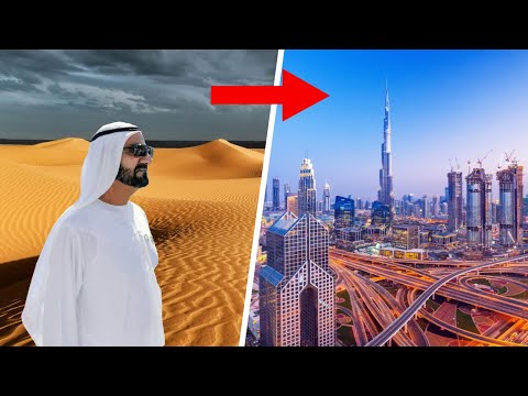 How Dubai Ruler built Dubai in a Desert