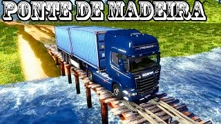Euro Truck 2: Ponte + estradas de terra (Parte 82)