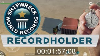 World Record Speedrun challenge for Shipwreck event | Last Day On Earth Survival