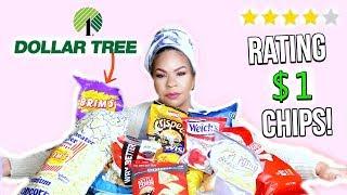 I TRIED DOLLAR TREE FOOD: Rating Dollar Store Chip! Sensational Finds