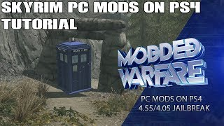 Converting Skyrim PC Mods to PS4 Jailbreak