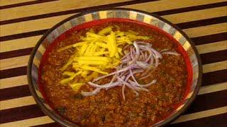 Real Texas Red Chili Recipe (cook Along Version) Chili Recipe