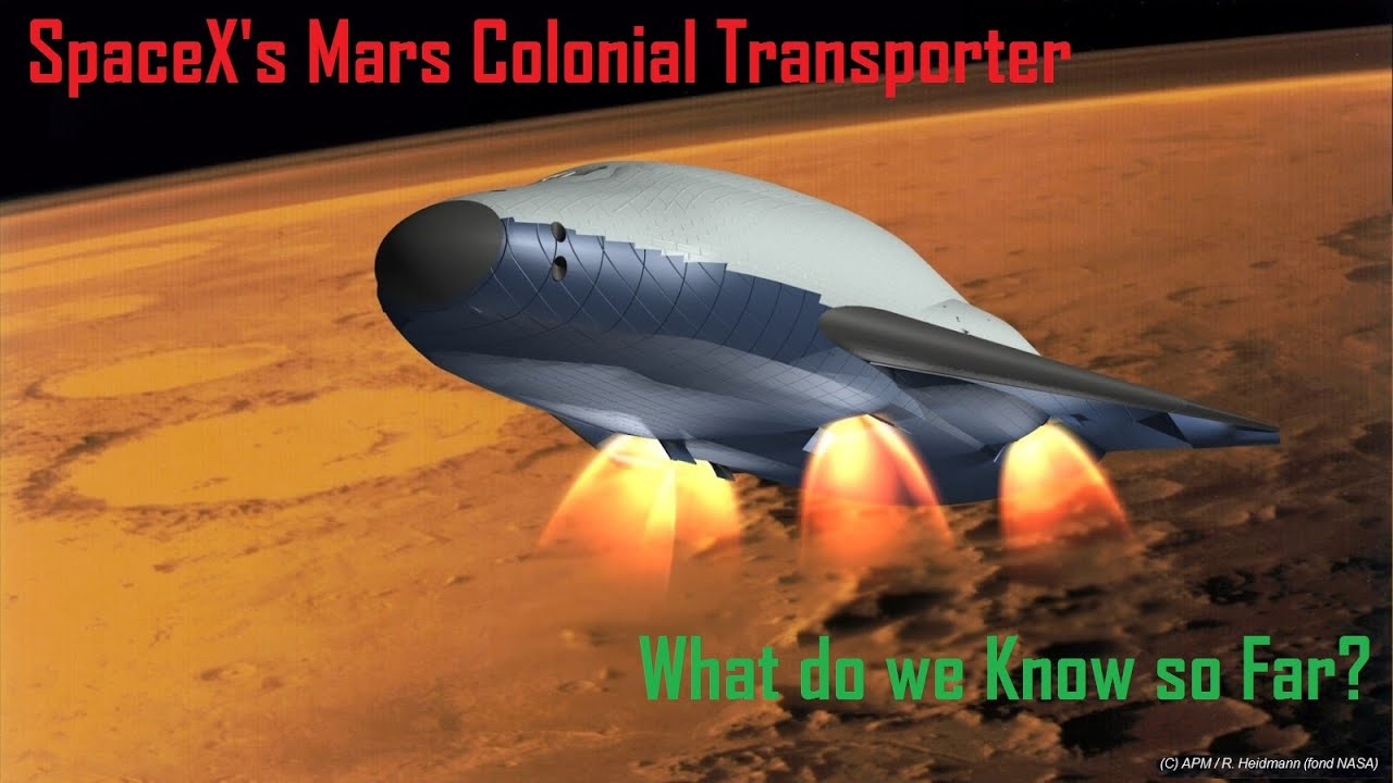 Image result for mars colonial transporter