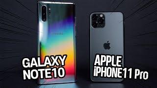 아이폰11 프로 vs 갤럭시노트10 플러스 속도 테스트 / 4GB 램으로 노트와 붙는다고??!!!