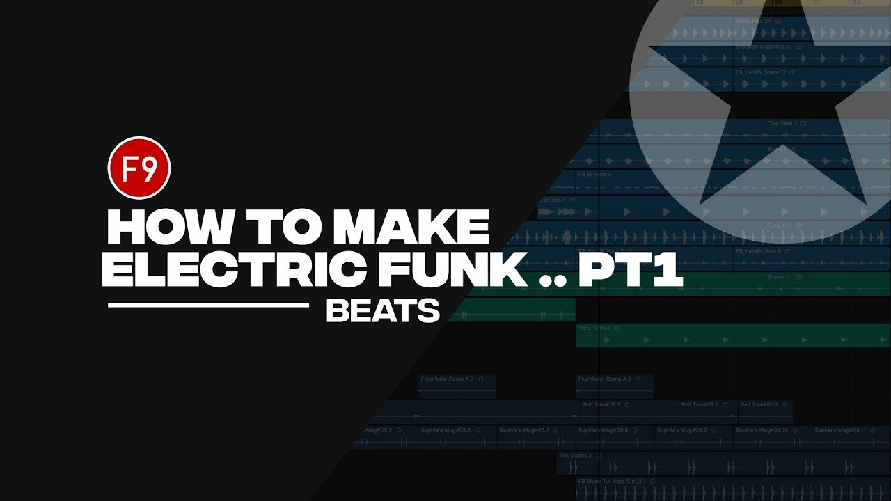 How to Make 80s Retro Electric Funk - F9 Tutorial - Part 1- Beats