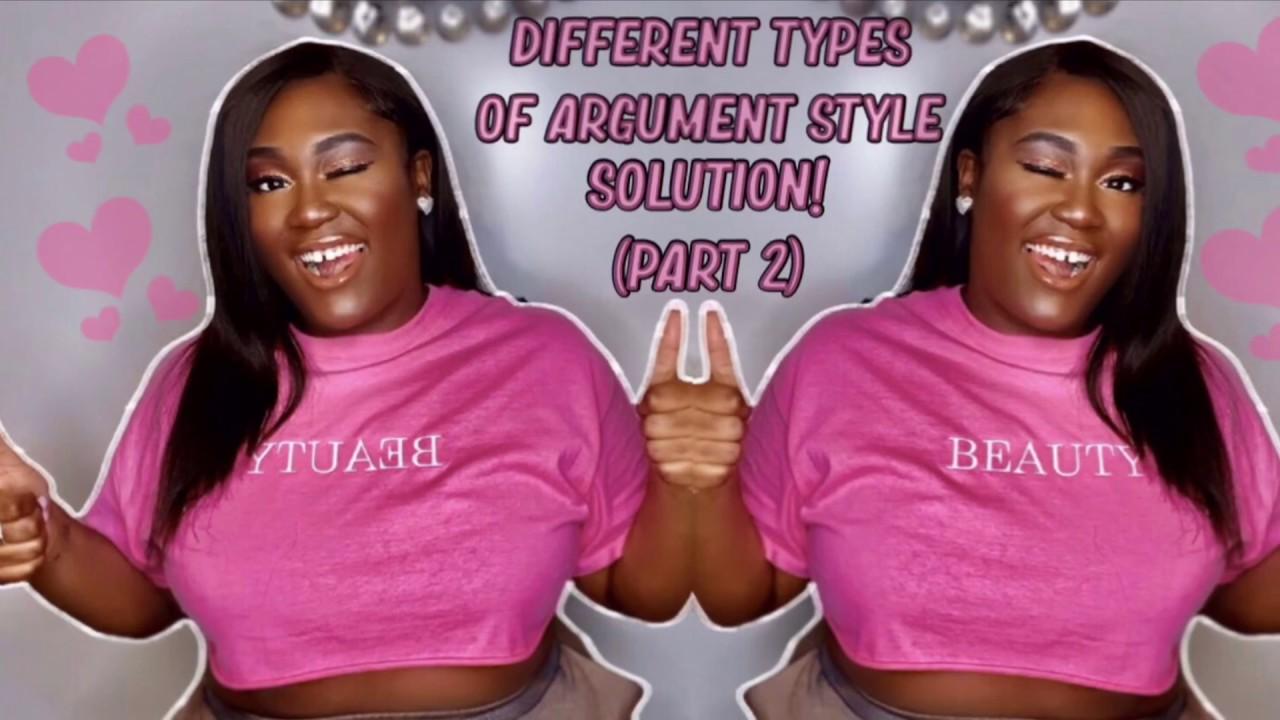 Distinct parts of an argumentative essay