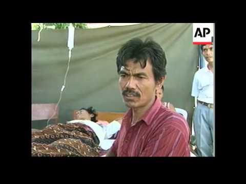 INDONESIA: EARTHQUAKE KILLS 103 UPDATE