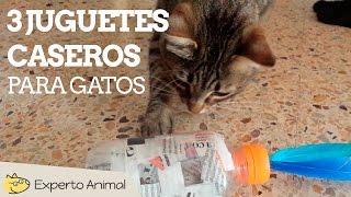 Juguetes para gatos fáciles de hacer - Juguetes caseros para gatos