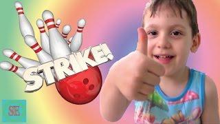Игрушки Боулинг для детей Киндер сюрприз Спайдермен Bowling for kids surprise eggs Toys Spider-Man