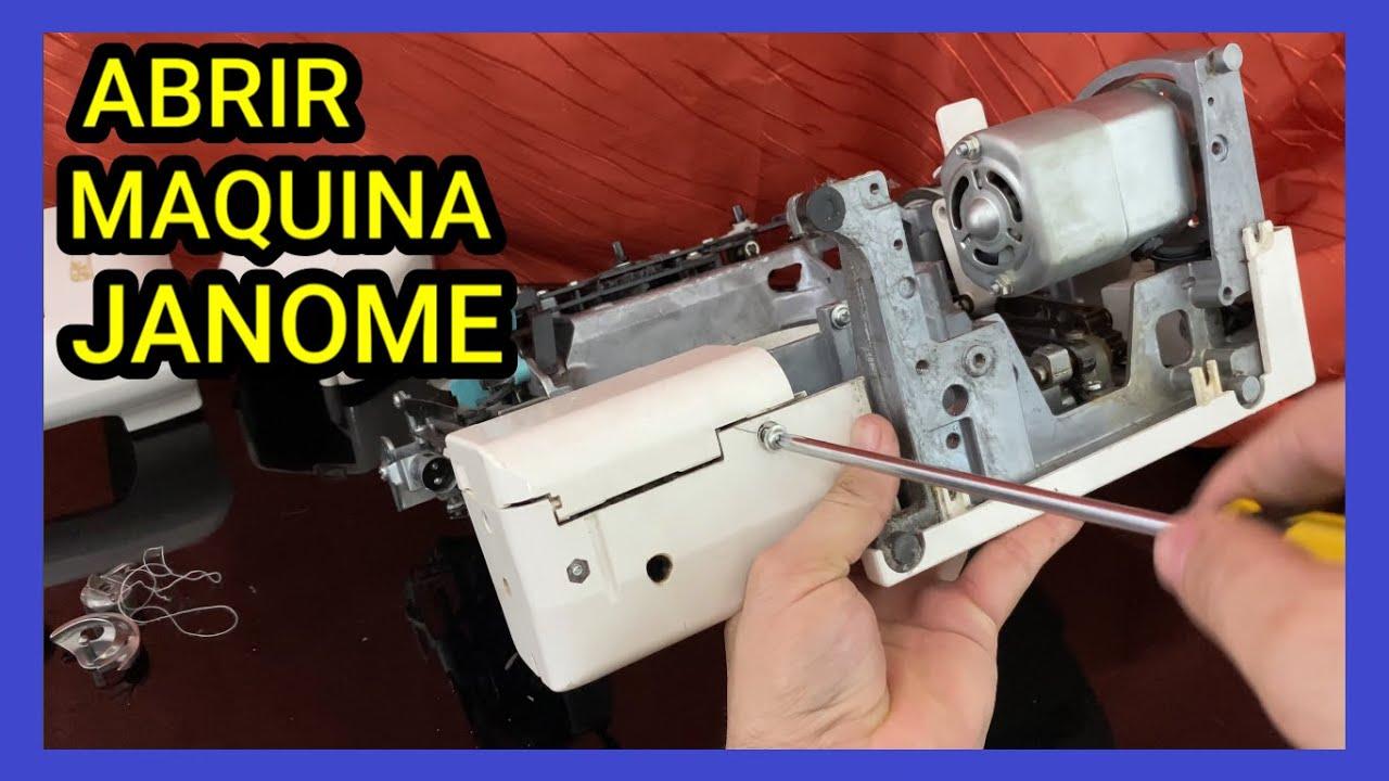Como DESARMAR una maquina de coser JANOME l mecanica confeccion