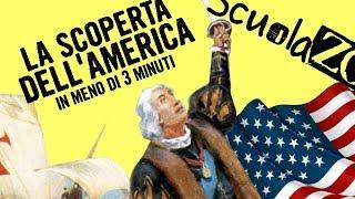 Noccioline #4 - LA SCOPERTA DELL' AMERICA in 3 MINUTI #ScuolaZoo