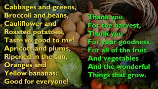 Harvest Samba (Cabbages and Greens) [with lyrics for congregations]