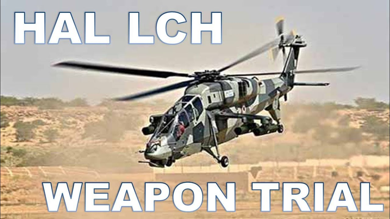 Download Indian light combat helicopter LCH promotion video weapon trial high altitude cold and hot trial