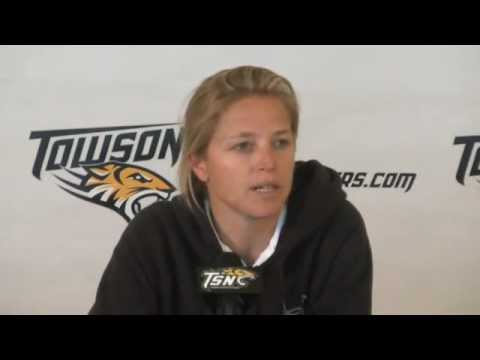 Comments from Sonia LaMonica following Towson Women