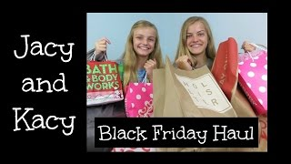 Black Friday Haul 2015 ~ Jacy and Kacy