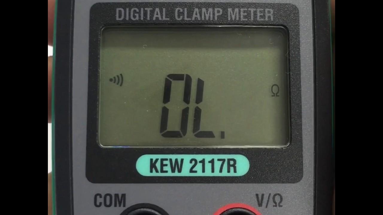 Kyoritsu Kew 2117r Digital Clamp Meter8 Harga Terkini Dan Meter Ac 2027 True Rms