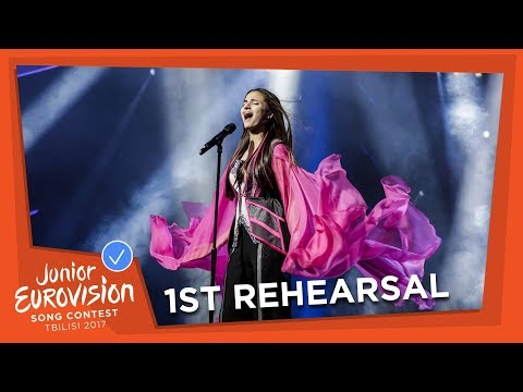 EXCLUSIVE REHEARSAL FOOTAGE: HELENA MERAAI - I AM THE ONE - BELARUS 🇧🇾 - JUNIOR EUROVISION 2017