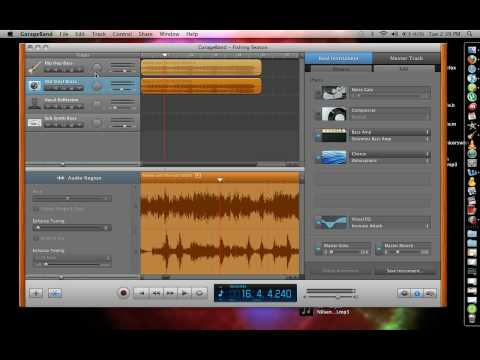 How to Remove Vocals Using Garage Band pt 1/3 - Remove Lyrics from Song using Garageband
