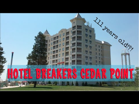 Hotel Breakers Room Tour, Cedar Point's 111 Year Old Hotel, Very unOfficial Travel Guides
