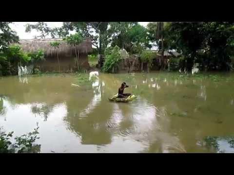 Flood 2015 ManickPur, Belmuri Hooghly Dhaniakhali 05