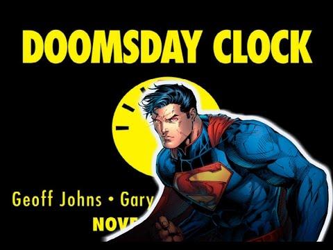 DC Rebirth Watchmen Comic DOOMSDAY CLOCK Announced  - Superman V Dr Manhattan