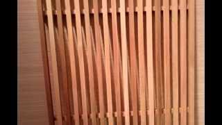 Watch now bardage red cedar pose claire voie for Pose bardage claire voie vertical