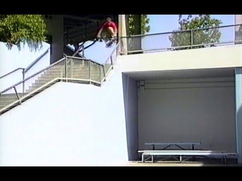 Jamie Thomas and the 'Leap of Faith'. Thrill Of It All (Zero, dir. Jamie Thomas, 1997).