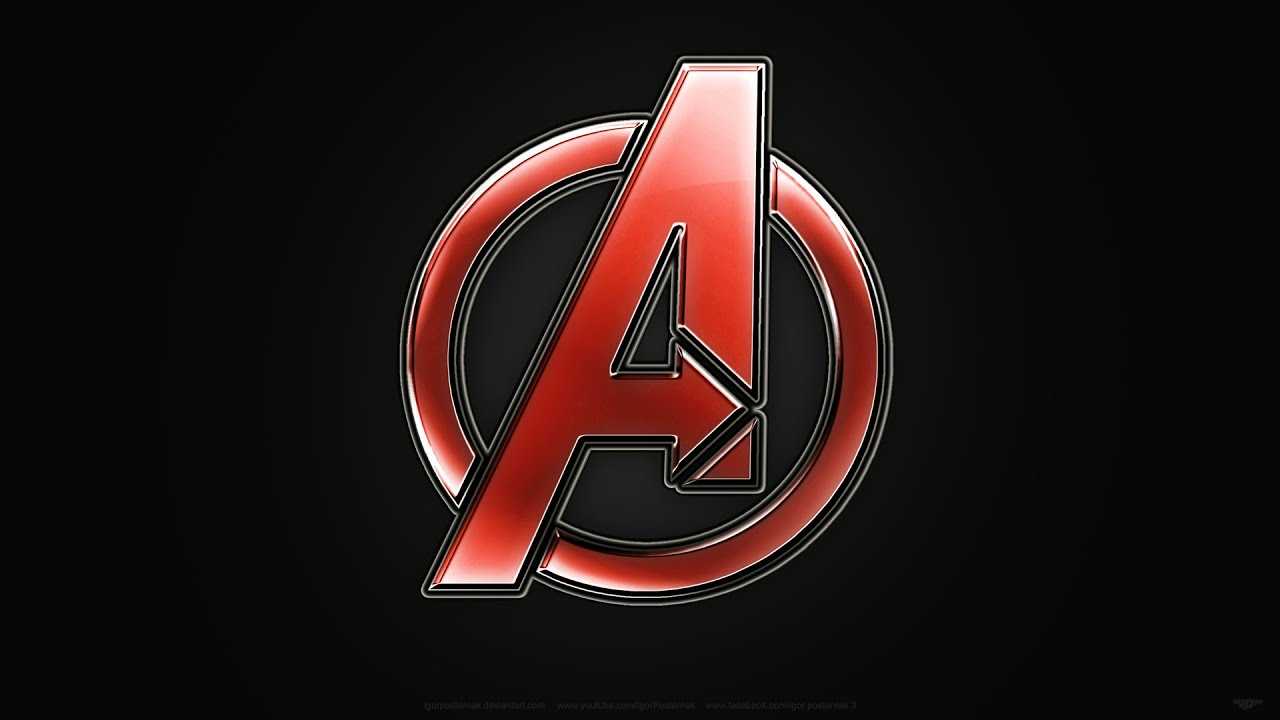 avengers / logo design - youtube
