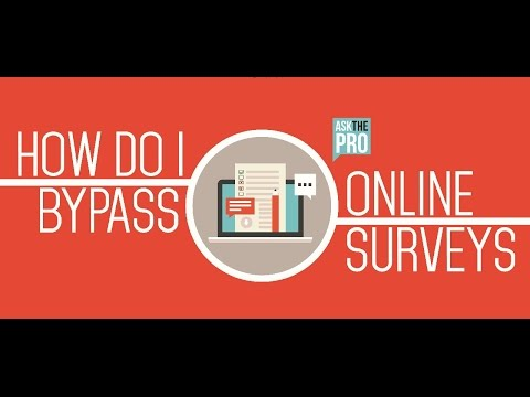 HOW TO SKIP ONLINE SURVEYS EASILY | BYPASS ONLINE SURVEYS 2017 NEW METHOD
