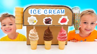Download Vlad and Niki Ice Cream & Watermelon Challenge for Mom